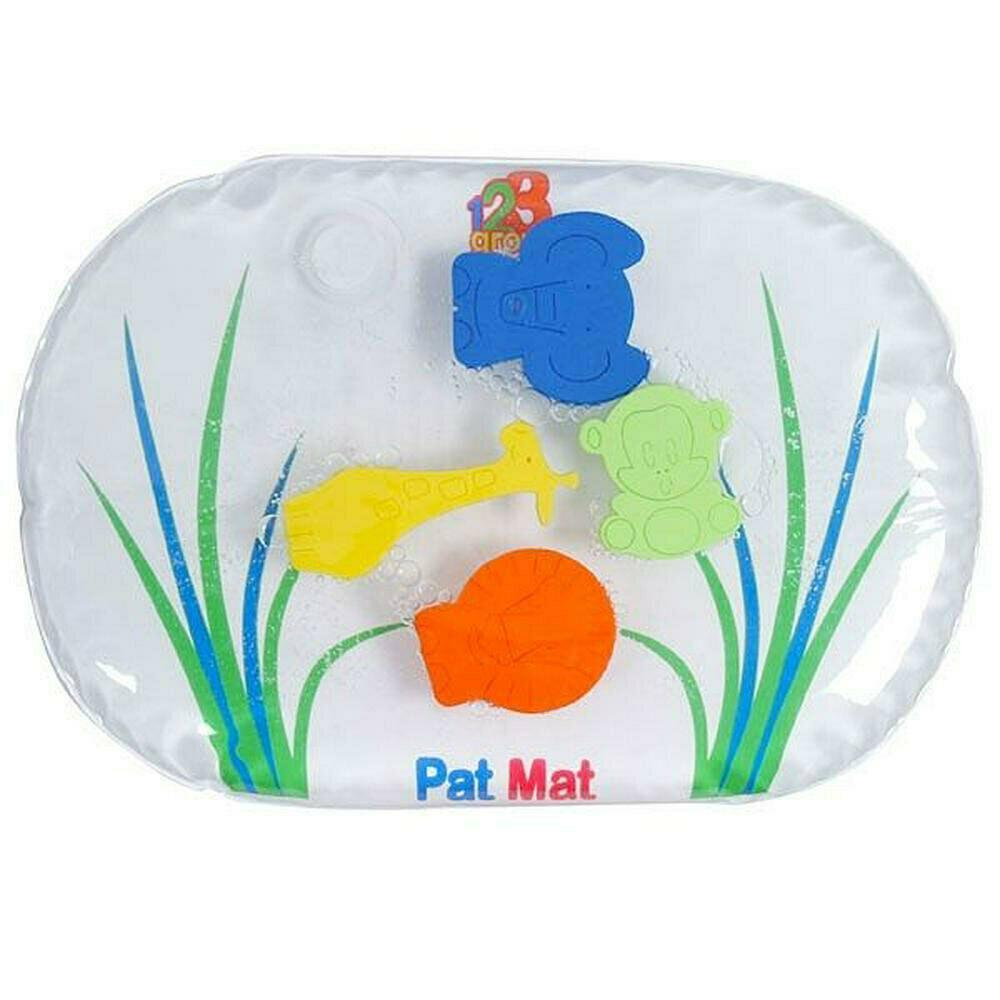 123 Grow 38x23cm Pat Mat Junior Water-Filled Jungle Safari Interactive Baby 6m+
