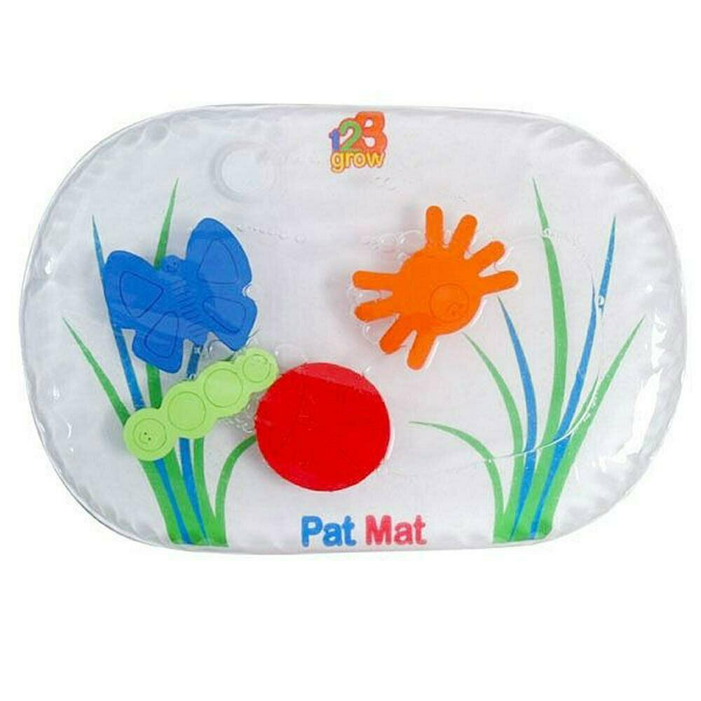 123 Grow 38x23cm Pat Mat Junior Water-Filled Fun Bugs Interactive for Baby 6m+