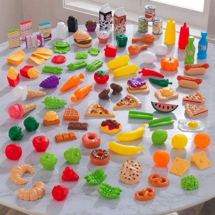 Deluxe Tasty Treats Pretend Play Food