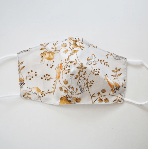 Reusable Cotton Face Mask made from Korean fabric (Child/Adult) - Animals