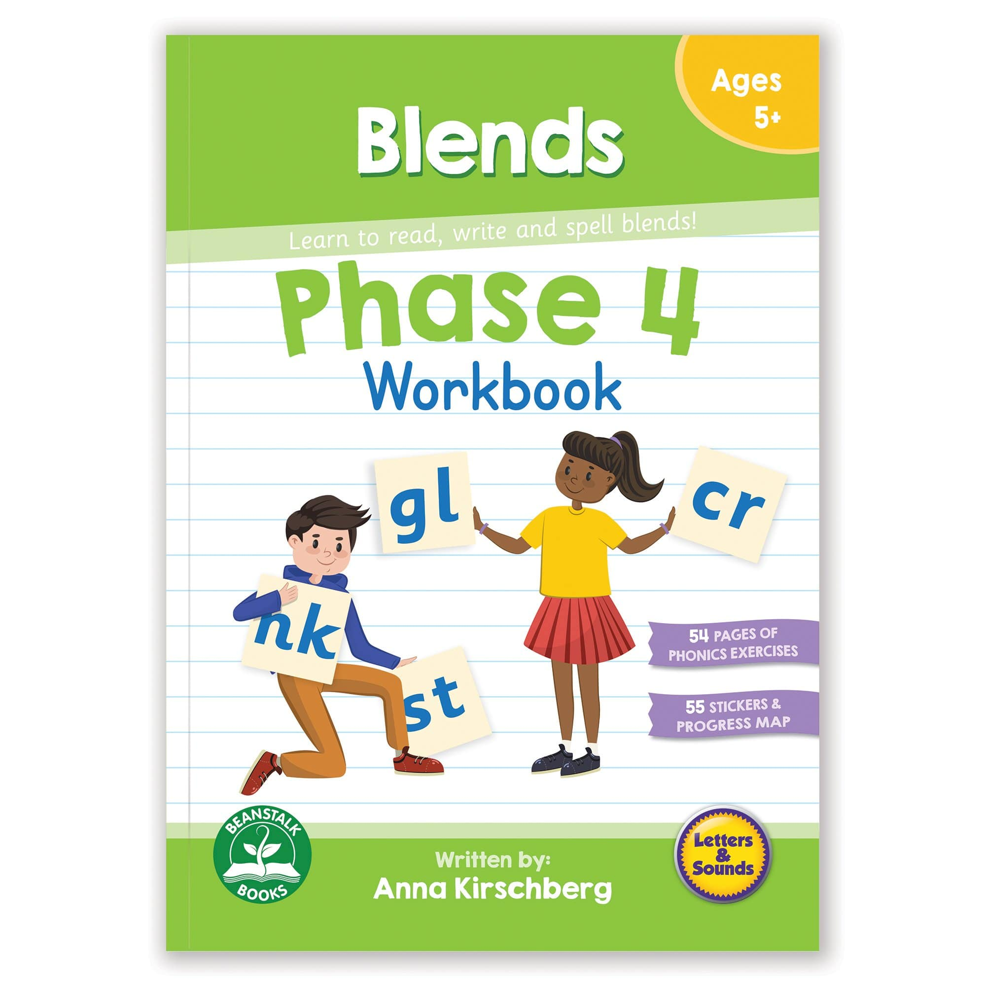 Phase 4 Blends Workbook
