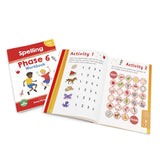 Phase 6 Spelling Workbook - 12 Pack