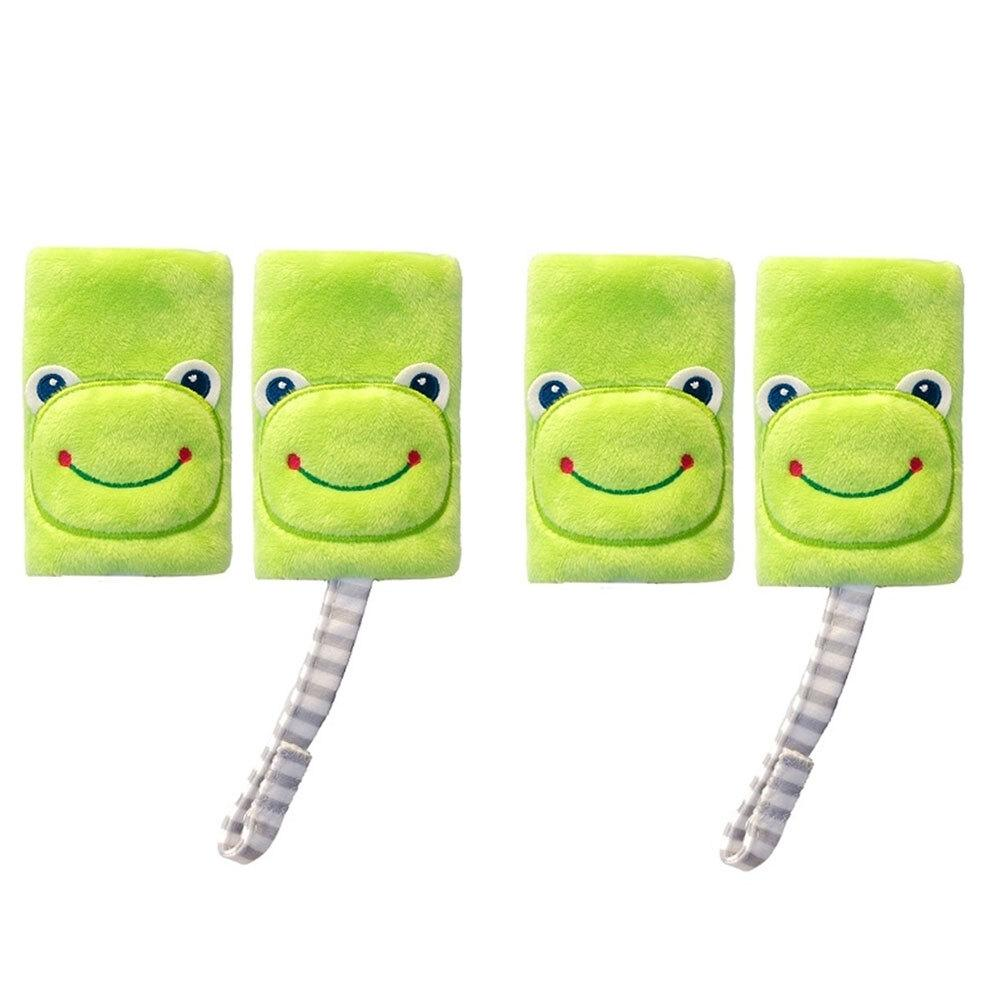 2PK Benbat Pals Frog Car Seat Belt Safety Cover 0-12m Baby/Infant Strap/Pads GRN