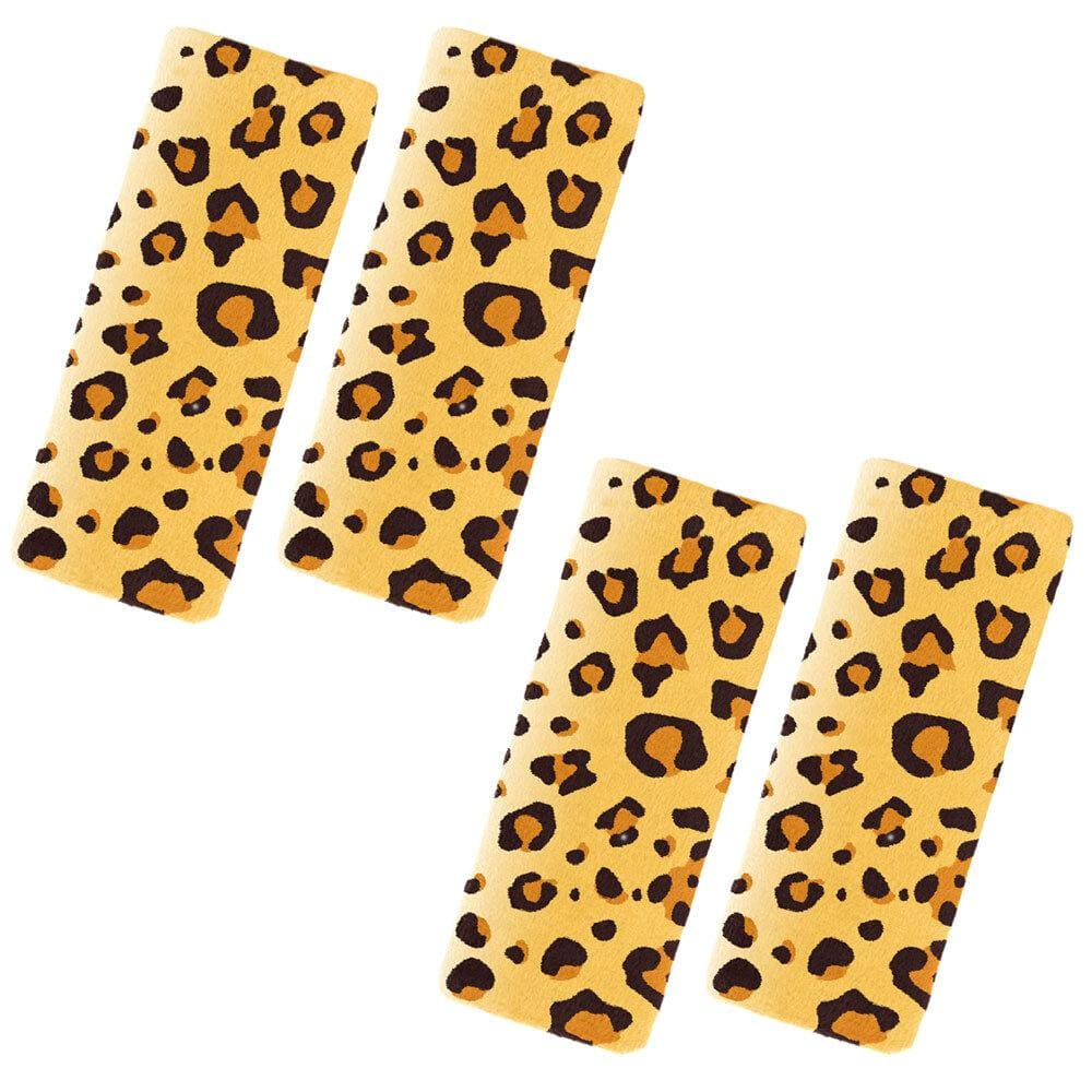 2PK Benbat Leopard Pals Car Seat Belt Safety Strap/Cover/Pads 1-4y Baby/Toddler