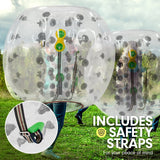 1.2m Inflatable Bumper Ball Body Bubble Outdoor - Transparent