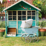 Plum® Wooden Deckhouse Play house -TEAL