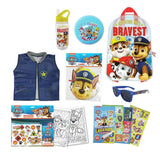 Paw Patrol Kids Showbag w/Backpack/Activity Set/Ball/Drink Bottle/Vest/Masks 3y+