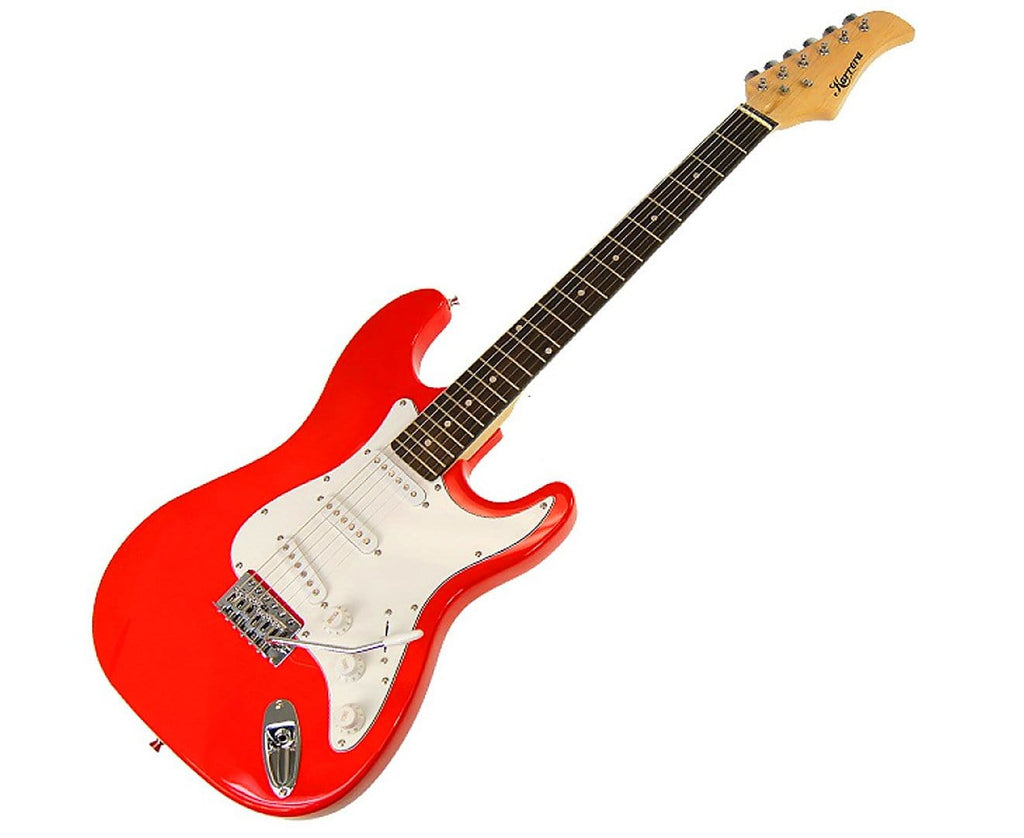 Karrera 39in Electric Guitar - Red