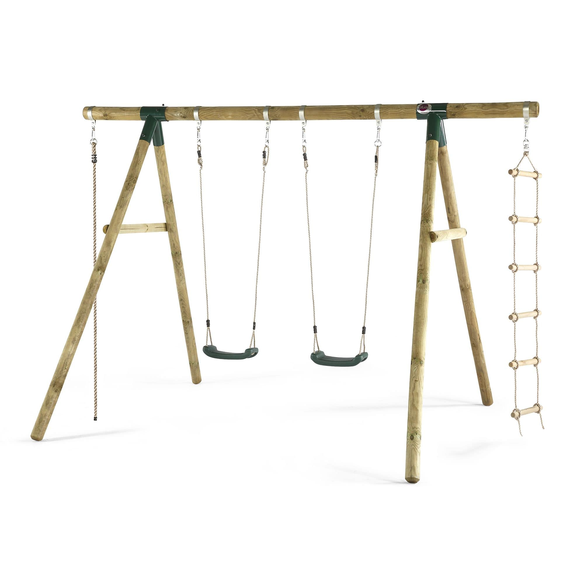 Plum® Gibbon Wooden Garden Swing Set