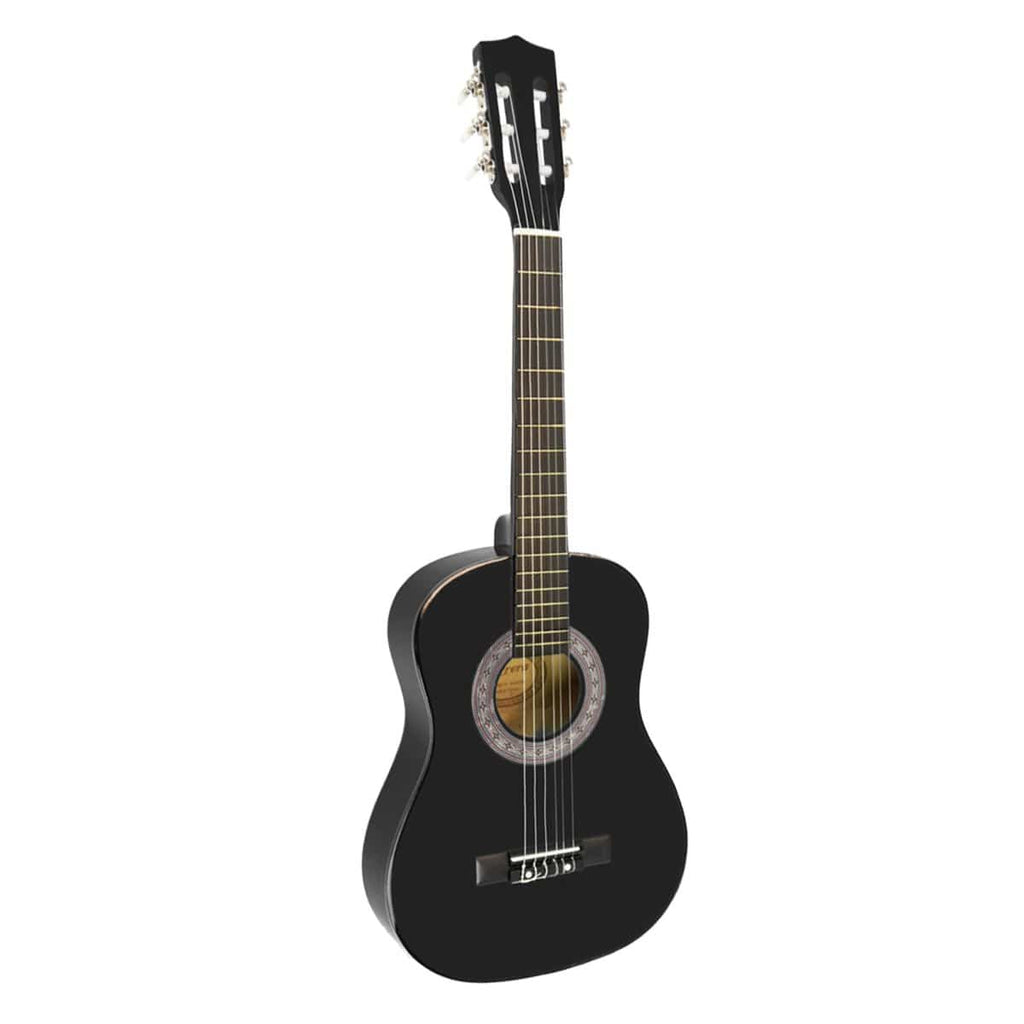 Karrera 34in Acoustic Children Wooden Guitar - Black