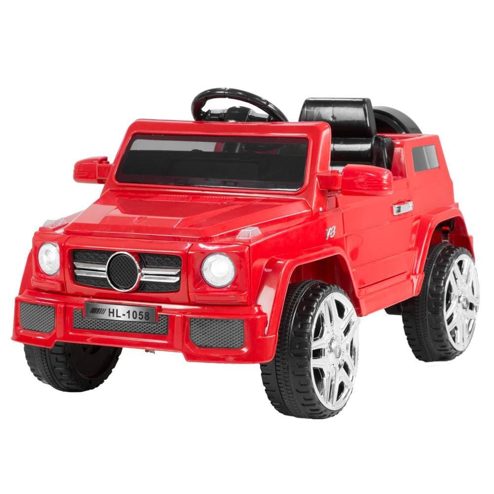 Mercedes Benz Inspired 12v Ride-On Kids Car Remote Control  - Red