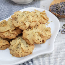Load image into Gallery viewer, Earl Grey Lavender Butter Cookies