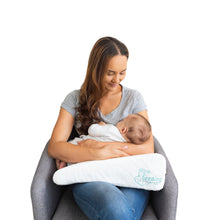Load image into Gallery viewer, Feeding Friend Nursing Pillow & Dusty Rose Cover Bundle (LIMITED EDITION)