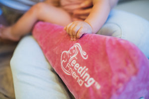 Feeding Friend Nursing Pillow & Dusty Rose Cover Bundle (LIMITED EDITION)