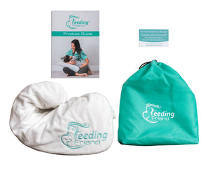 Feeding Friend Nursing Pillow + Lactation Treat Bundle (Feed In Pink)