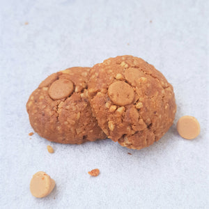 Drive Mum Nuts - Peanut butter cookies with Reeses peanut butter chips