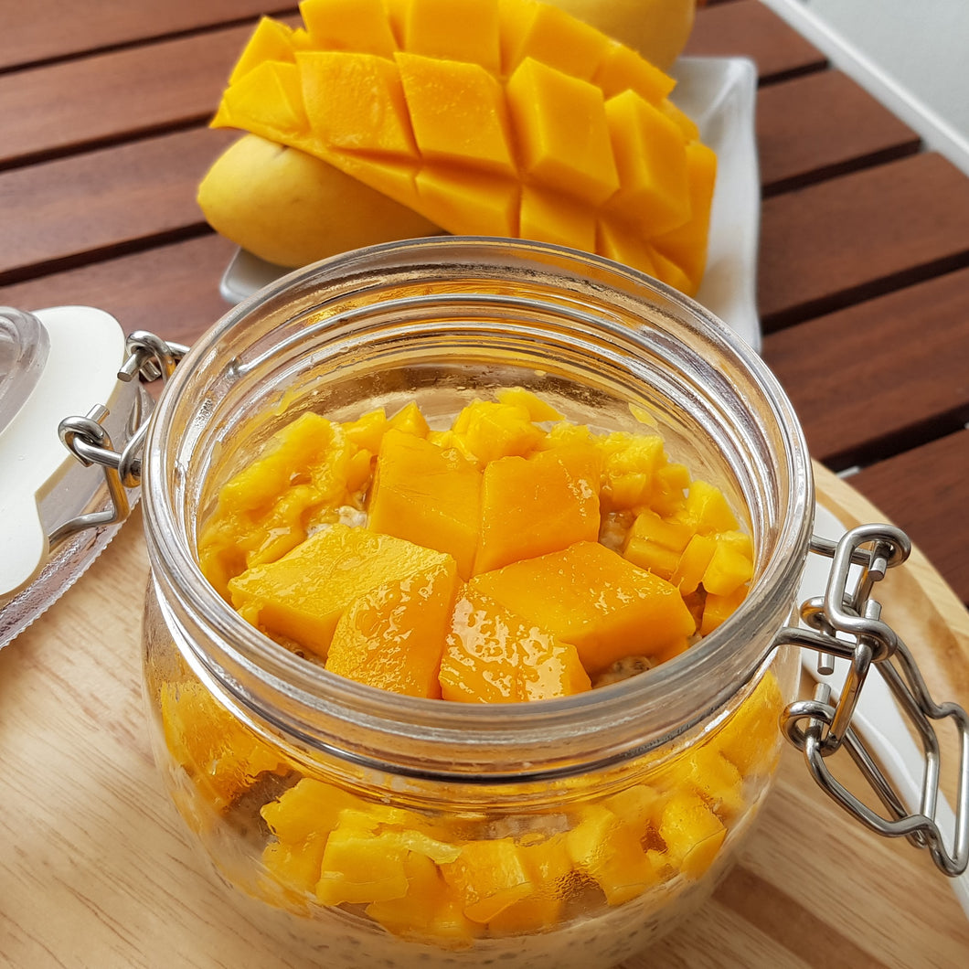 Mango Overnight Oats