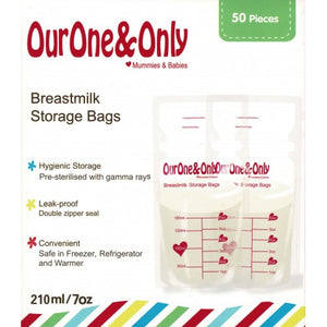 OurOne&Only - Breastmilk Storage Bags