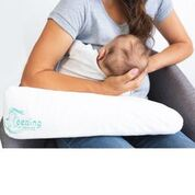 Load image into Gallery viewer, Feeding Friend Nursing Pillow + Lactation Treat Bundle (Feed In Pink)