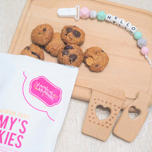 Yummies4mummies & Little Mouse Workshop - Lactation Treat + Teether Gift Set