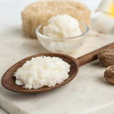 Shea butter moisturize the skin to avoid drying and cure flaking if you have eczema