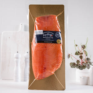Cold Smoked Atlantic Salmon 1kg Whole Side