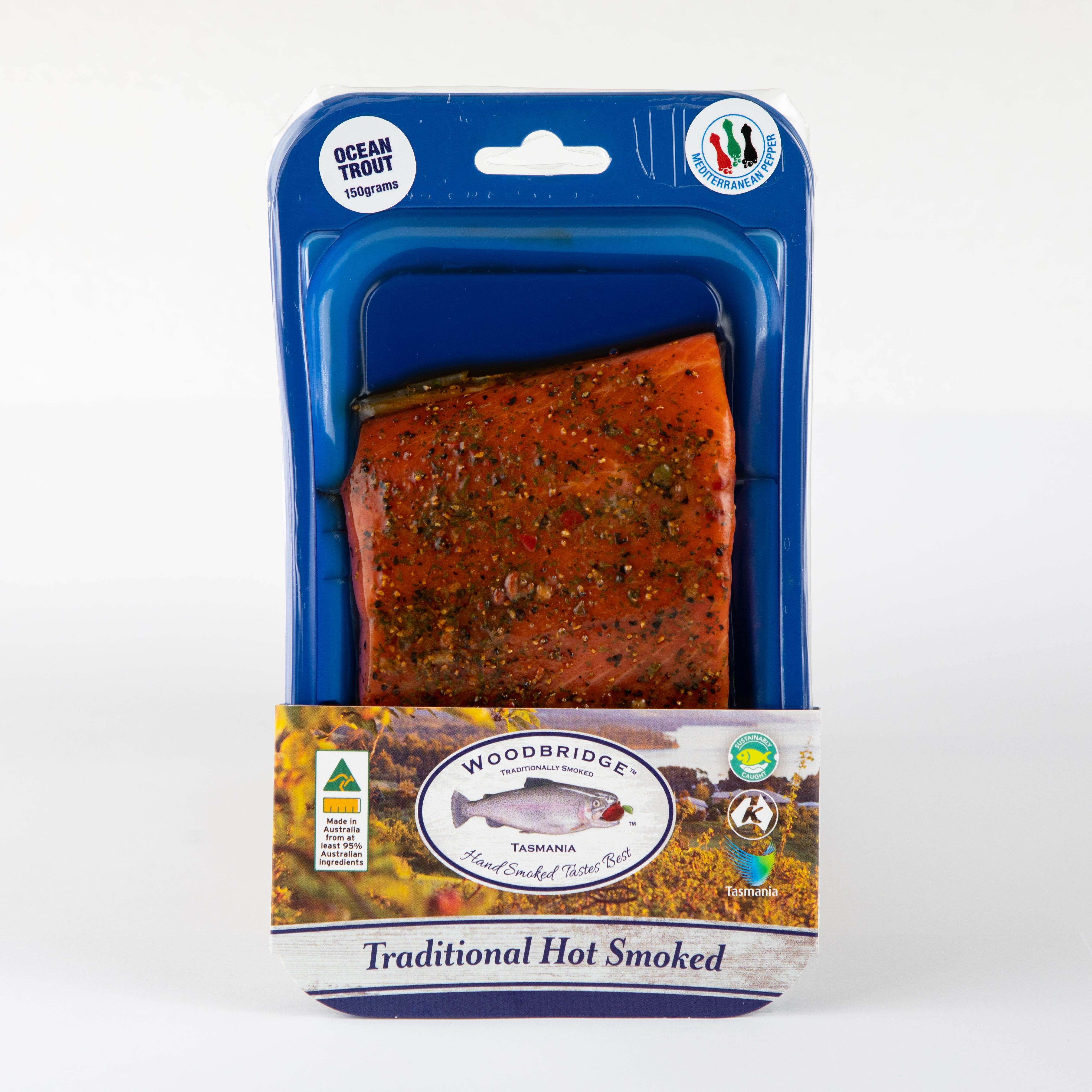 Hot Smoked Ocean Trout Mediterranean Pepper