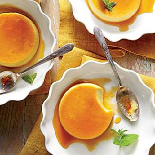 RAW HONEY FLANS