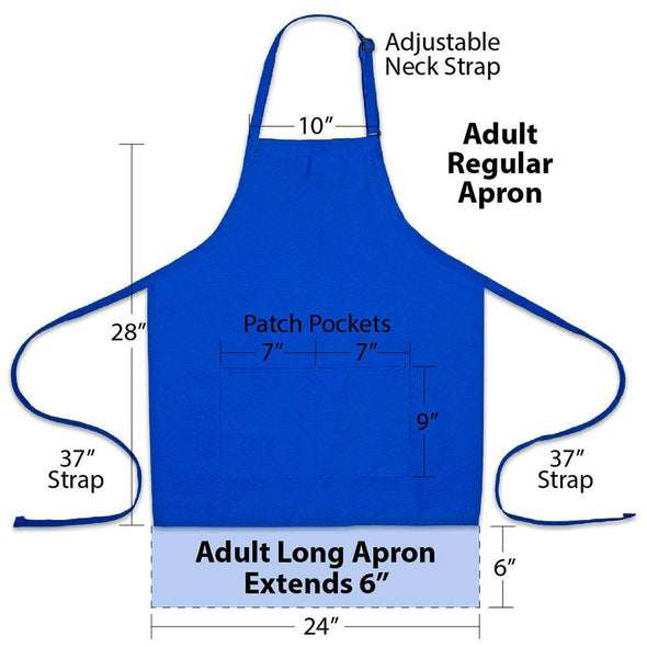 Personalized Apron Embroidered Grill Master Design Add a Name