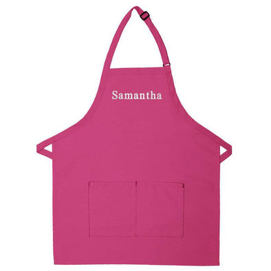 Personalized Apron Embroidered Name or Text