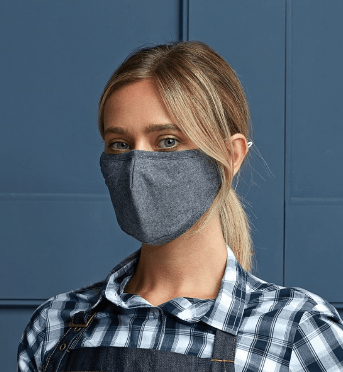 Hunter Face Covers Protective 3-Layer Fabric Mask with Carbon Filter Option