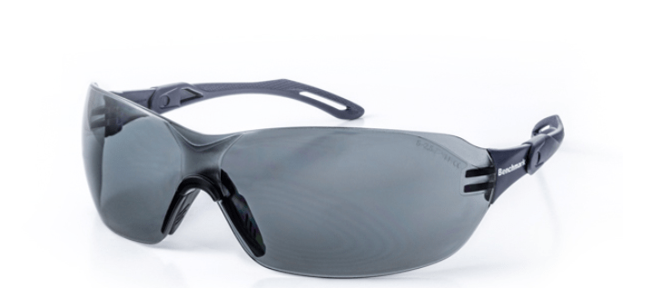 Hunter Face Protection Smoked Lens Safety Specs HA5522