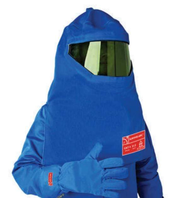 Hunter Apparel Direct Flame Retardant/Arc Flash Hood - Ventilated Switching HA6535