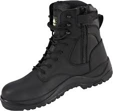 Hunter Apparel Direct Footwear Melanite Waterproof Safety Boot With Side Zip