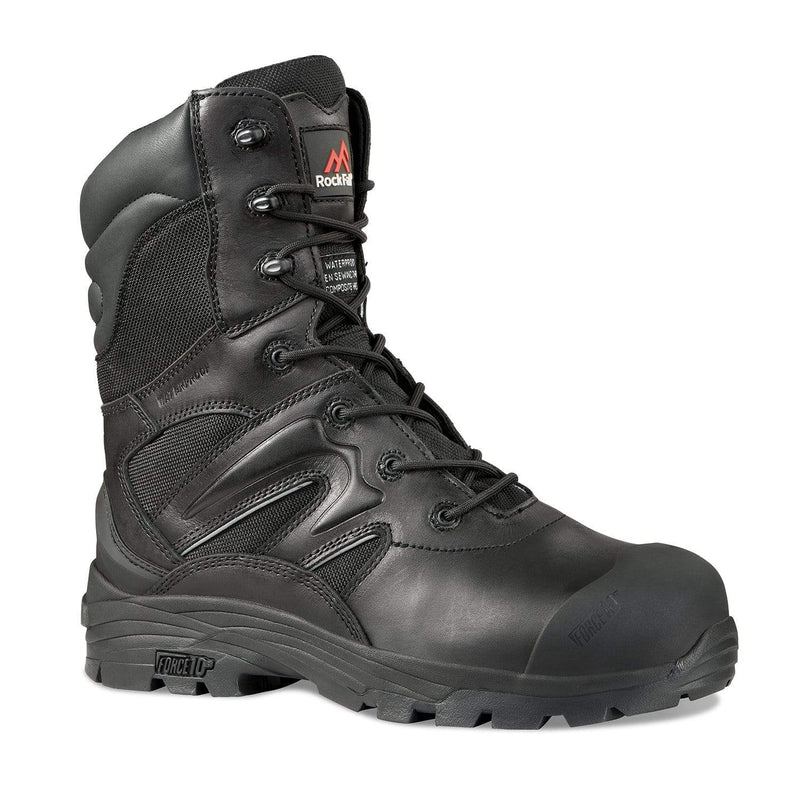 Hunter Apparel Direct Footwear Titanium Waterproof Safety Boot With Side Zip