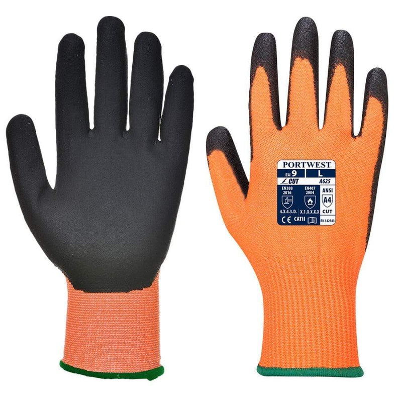 Hunter Apparel Direct Gloves 10 VIS-TEX Cut Resistant Gloves HA6583