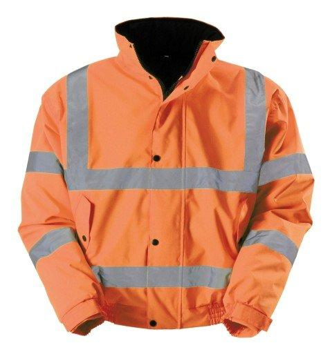 Hunter Apparel Direct Hi Visibility Hi-Vis Bomber Jacket