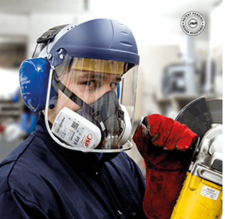 Hunter Apparel Direct Respiratory Mask - PPE JSP Force 8 1/2 face mask with P3 filters