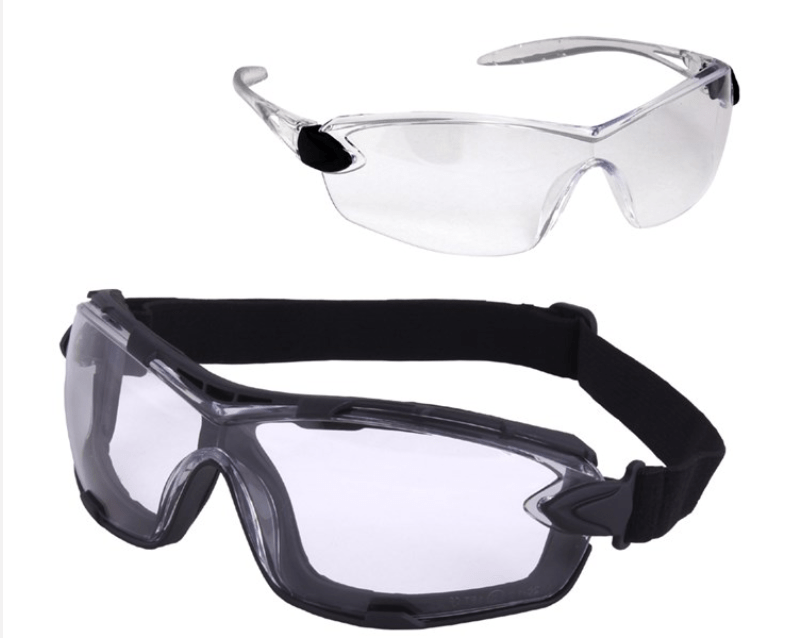 Hunter Safety Goggles & Glasses Interchangeable Riga Safety Spec HA5677