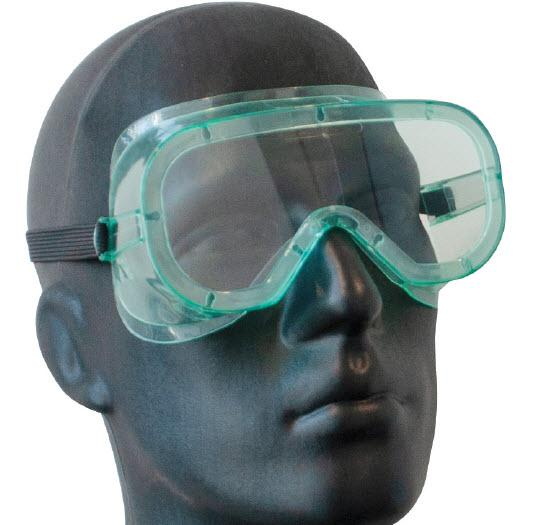 Hunter Safety Goggles & Glasses Un-Vented Safety Goggle HA7014