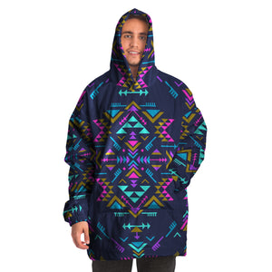 "Abstract ""Snug"" Hoodie"