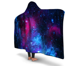 Load image into Gallery viewer, Galaxy Hooded Blanket