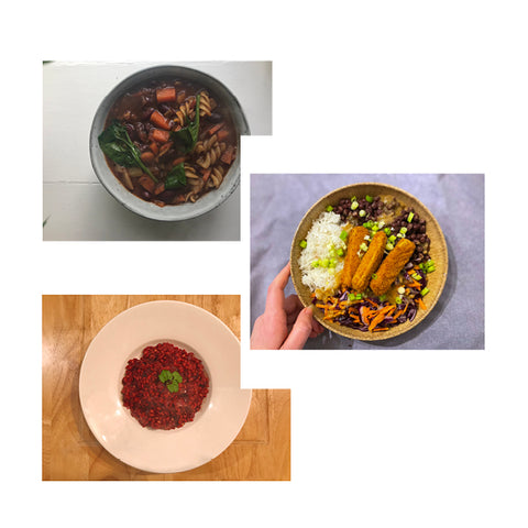 15/03 - Minestrone Soup, Thai Buddha Bowl & Roasted Beetroot Risotto