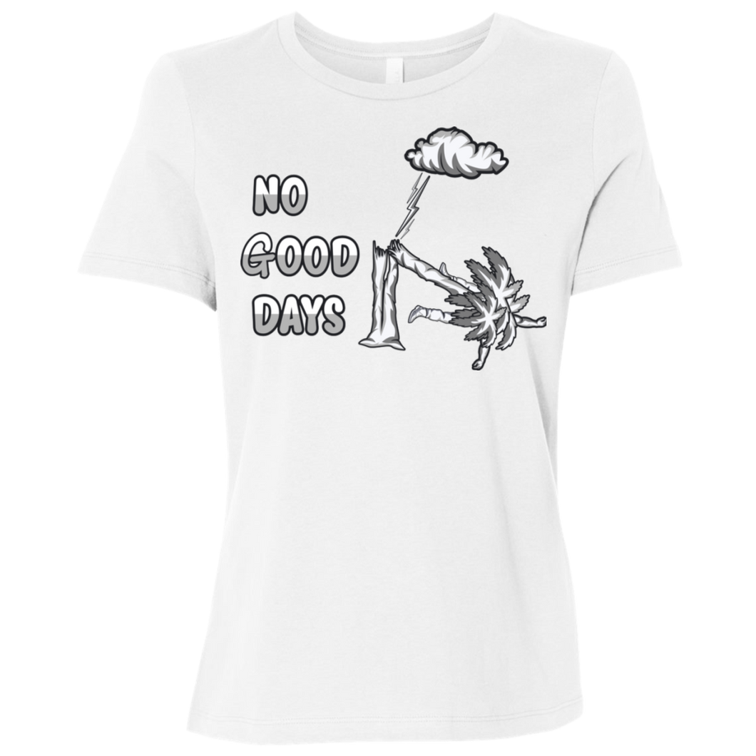 B6400 Ladies' Relaxed Jersey Short-Sleeve No Good Days T-Shirt