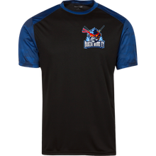 Load image into Gallery viewer, YST371 Youth CamoHex Colorblock T-Shirt