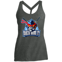 Load image into Gallery viewer, DM466 Ladies' Cosmic Twist Back Mad Monkey Tank