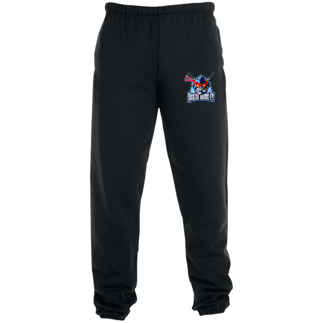 4850MP  Sweatpants with Pockets and a Mad Monkey!