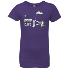 Load image into Gallery viewer, NL3710 Girls' Princess No Good Days T-Shirt