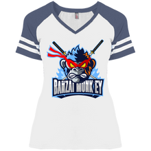Load image into Gallery viewer, DM476 Ladies' Game V-Neck T-Shirt