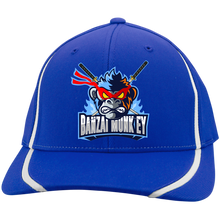 Load image into Gallery viewer, STC16 Flexfit Colorblock Mad Monkey Cap